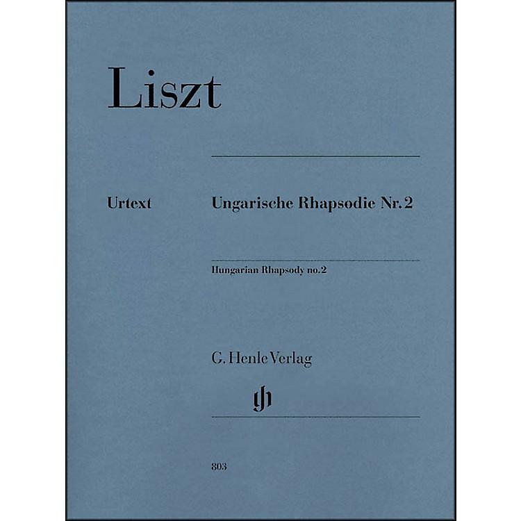 G. Henle VerlagHungarian Rhapsody No. 2 By Liszt
