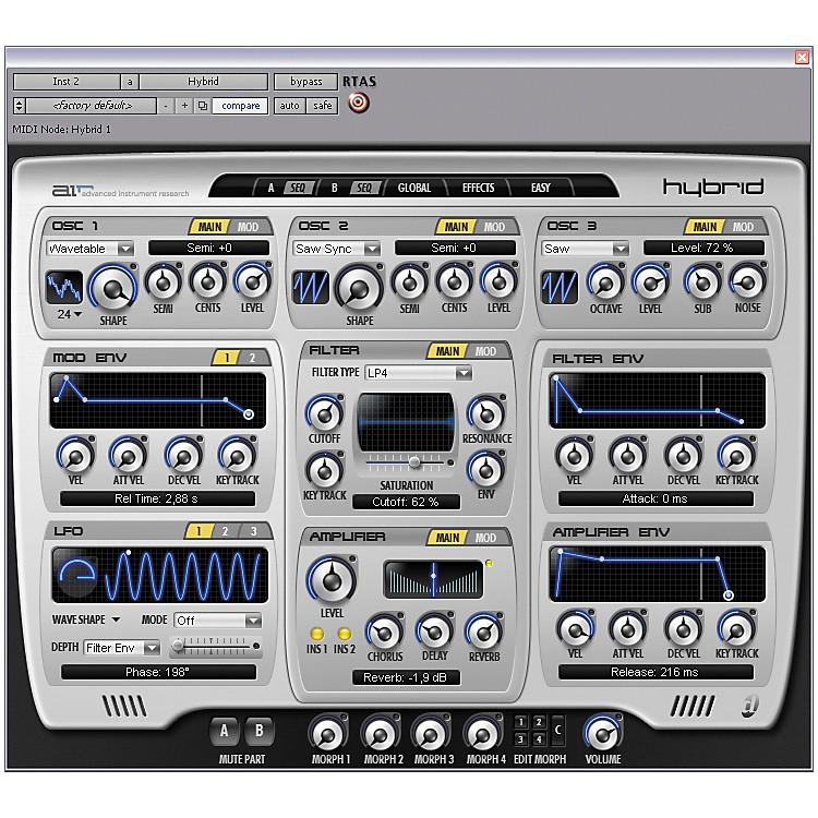 DigidesignHybrid - High-Definition Synthesizer