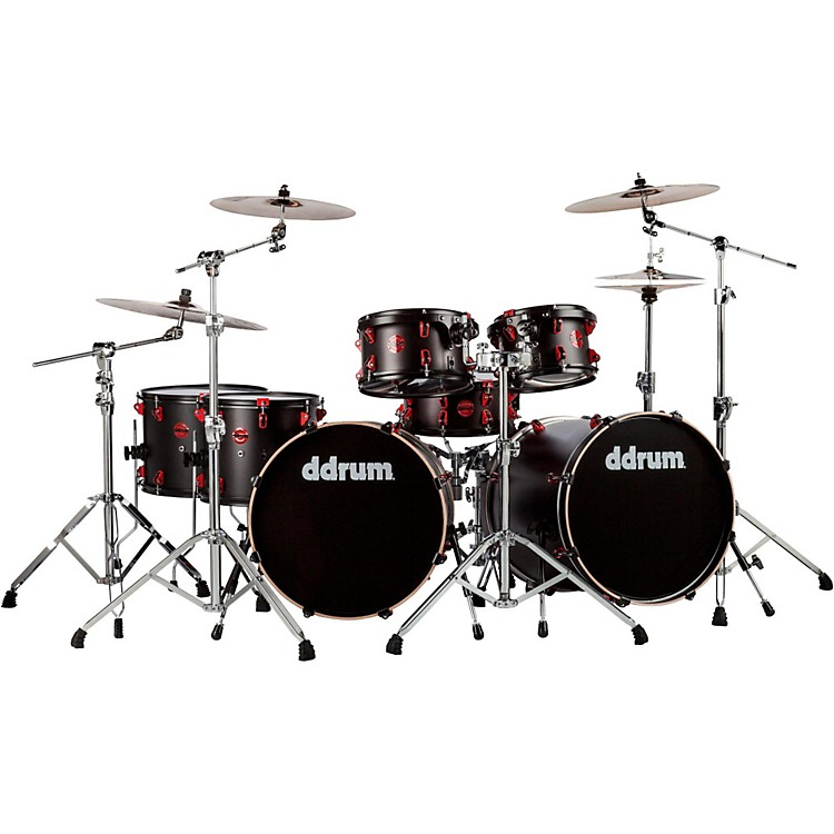 DdrumHybrid Acoustic/Electric 7-piece Double Bass Shell Pack
