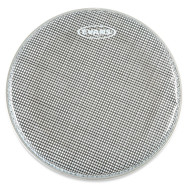 Evans Hybrid Marching Snare Side Head Clear 13