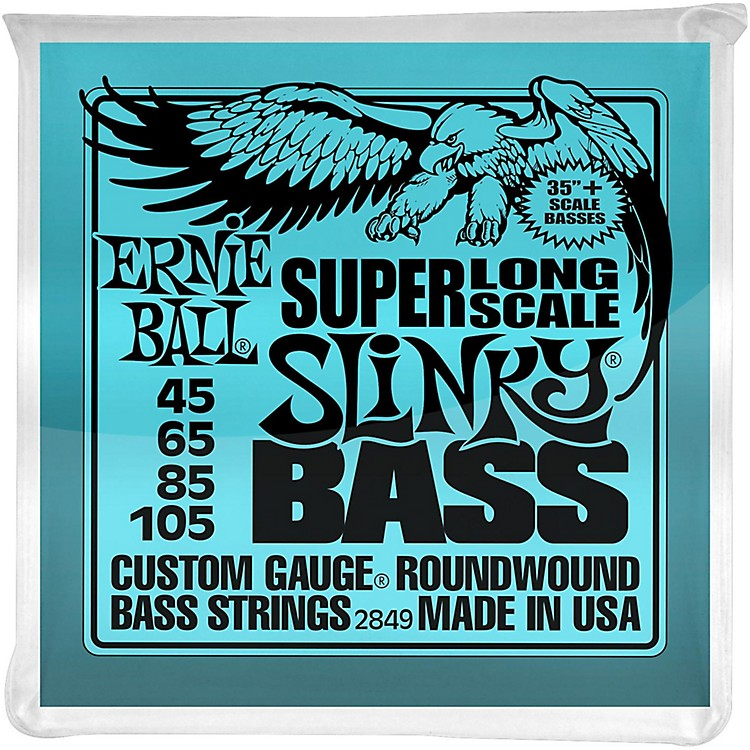 Ernie Ball Hybrid Slinky Bass Strings Super Long Scale