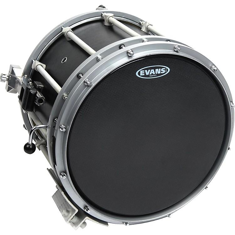 EvansHybrid-Soft Marching Snare Drum Batter Head Black13 in.