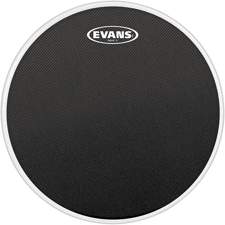 EvansHybrid-Soft Marching Snare Drum Batter Head Black