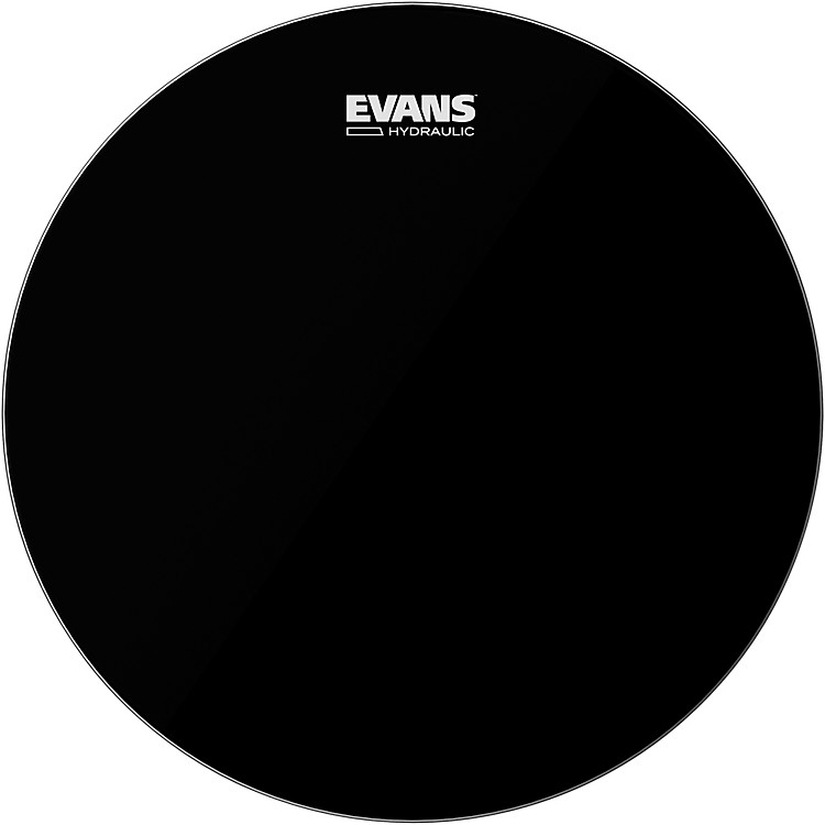 Evans Hydraulic Bass Drumhead Black 22 in.