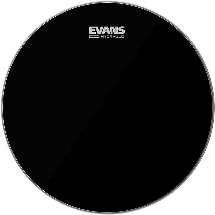 EvansHydraulic Black Tom Batter Drumhead14 in.