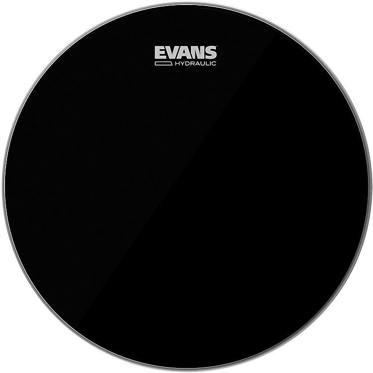 EvansHydraulic Black Tom Batter Drumhead16 IN