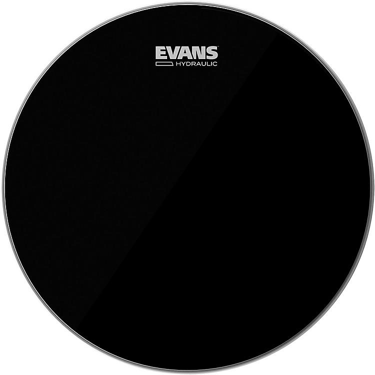 EvansHydraulic Black Tom Batter Drumhead