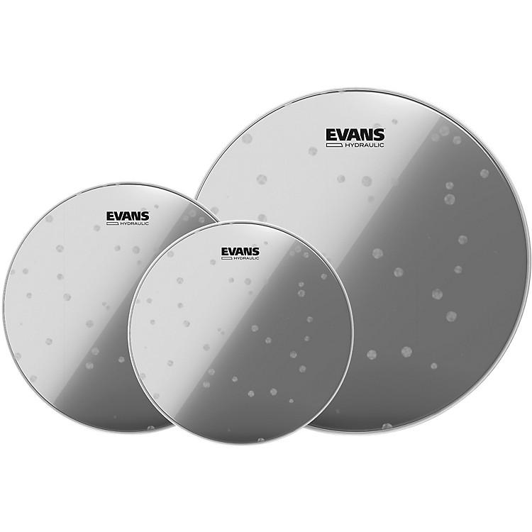 EvansHydraulic Glass 10/12/14 Fusion Drum Head Pack