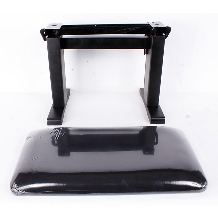 Musician's Gear Hydraulic Lift Piano Bench Black Velvet Top 888365035321