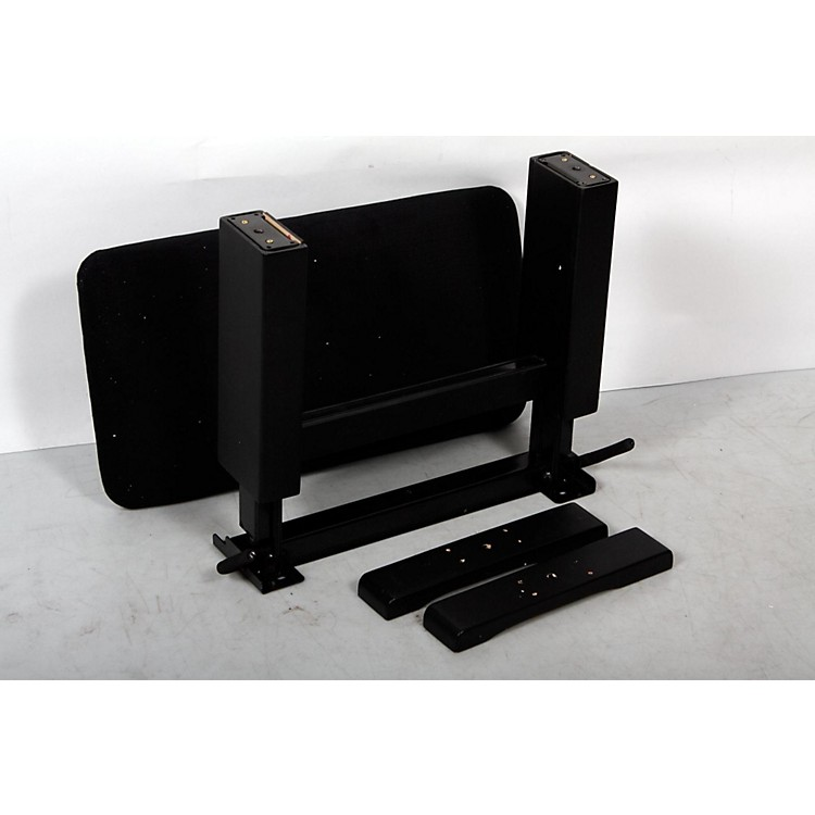 Musician's GearHydraulic Lift Piano BenchBlack Velvet Top, Black Matt Finish888365903750
