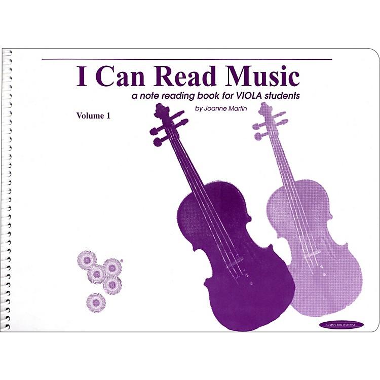 AlfredI Can Read Music for Viola, Volume 1 Book