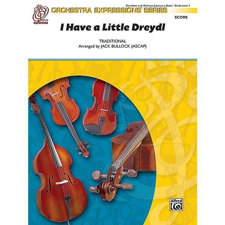 AlfredI Have a Little Dreydl Orchestra Grade 1 Set