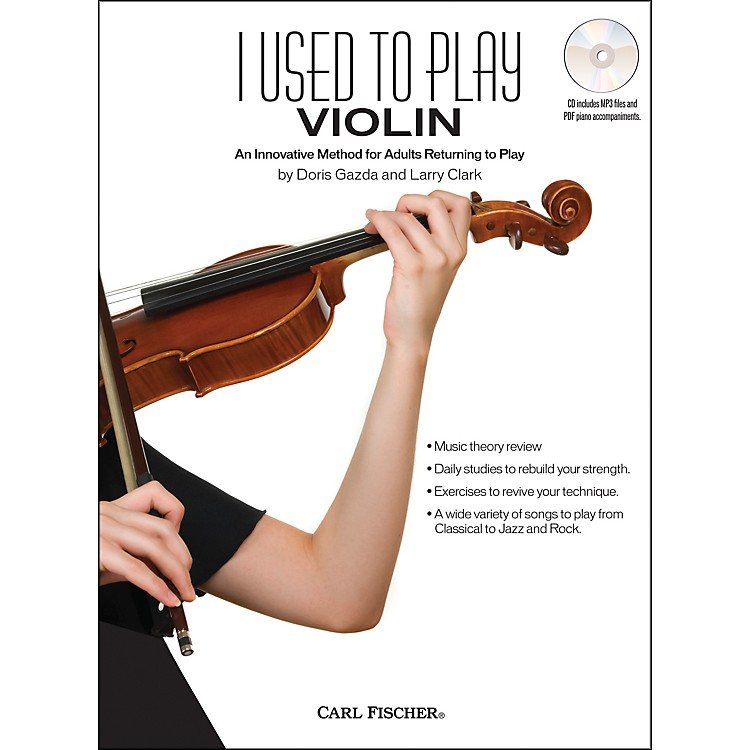 Carl FischerI Used To Play Violin Book/CD