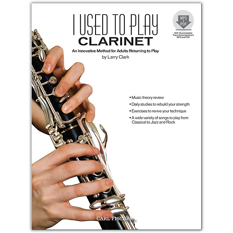 Carl Fischer I Used to Play Clarinet Book/CD