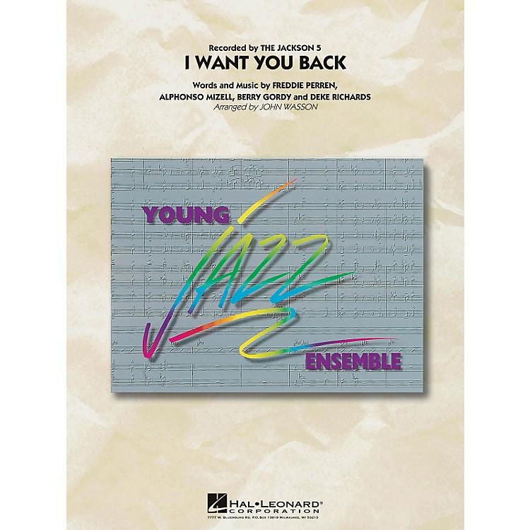 Hal LeonardI Want You Back - Young Jazz Ensemble Series Level 3