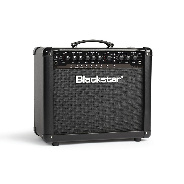 Blackstar ID:15 1x10 15W Programmable Guitar Combo Amp with Effects Black