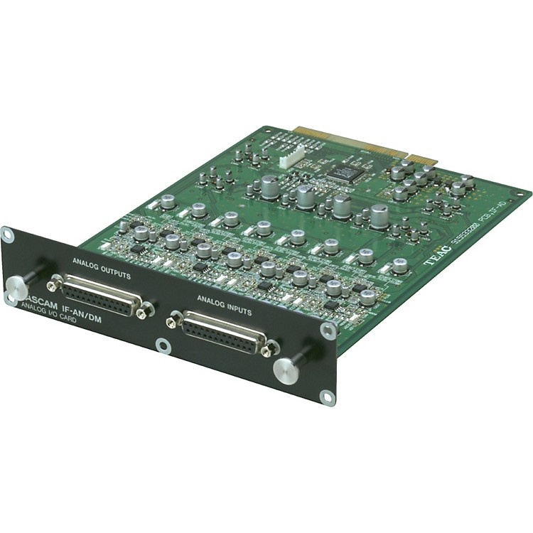 Tascam IF-AN/DM 8-Channel Analog I/O Expansion Card for SX-1/DM-24