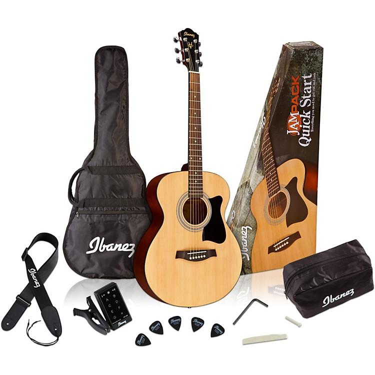 IbanezIJVC50 Jampack Grand Concert Acoustic Guitar PackNatural