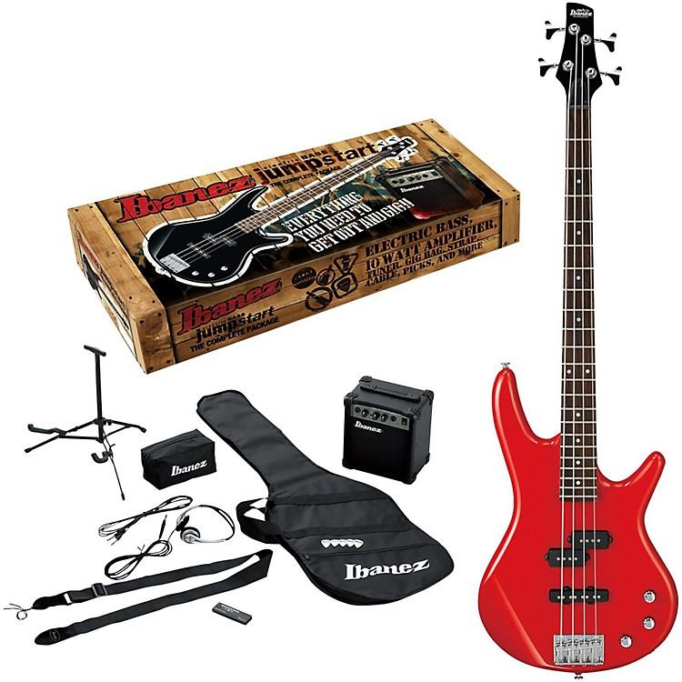 IbanezIJXB150B Jumpstart Bass PackageRed