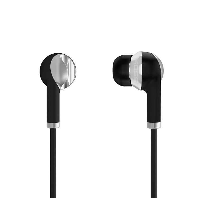Koss IL100 Noise-Isolating In-Ear Stereophones (Black/Silver) Black / Silver