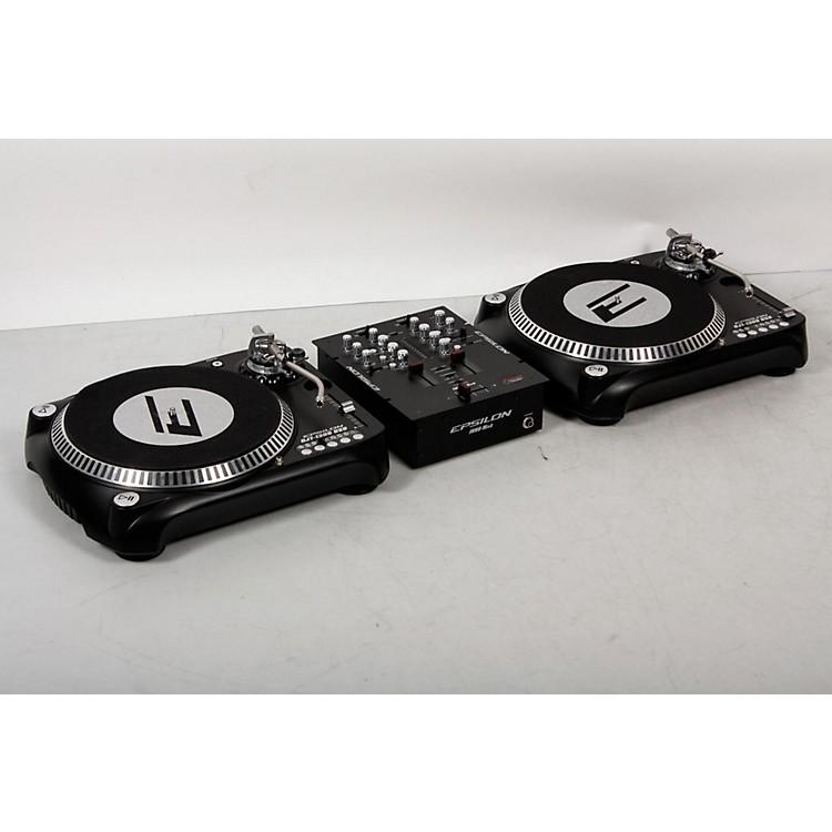 EPSILONINNO-PROPAK DJT-1300 USB Turntable (2) and INNO-MIX2 Mixer (1)Black888365849133