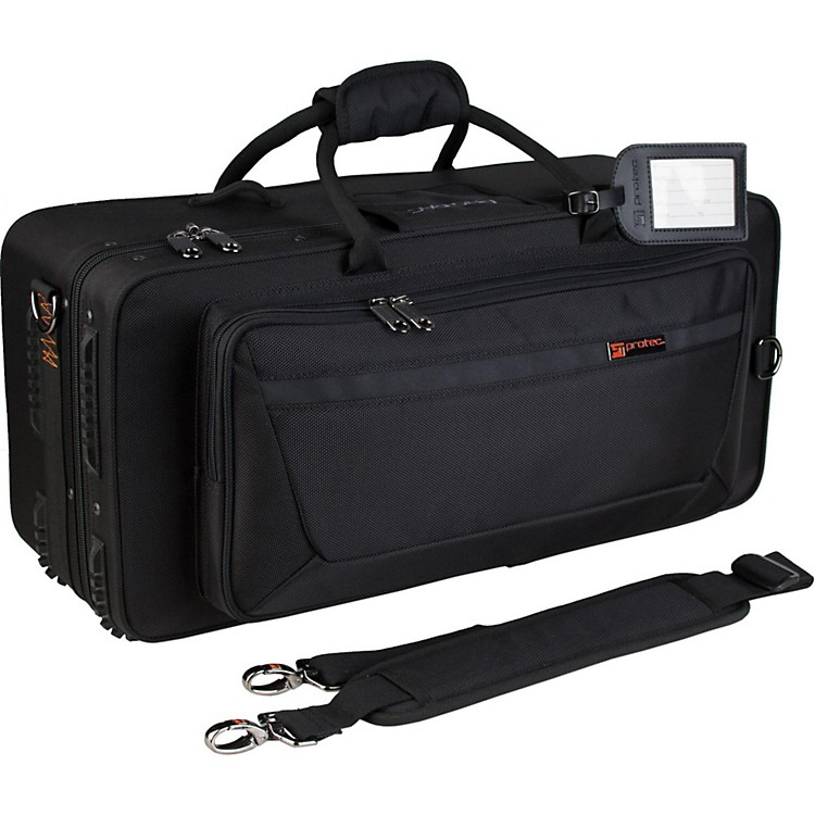 Protec IP301D iPAC Double Trumpet Case IP301D Black