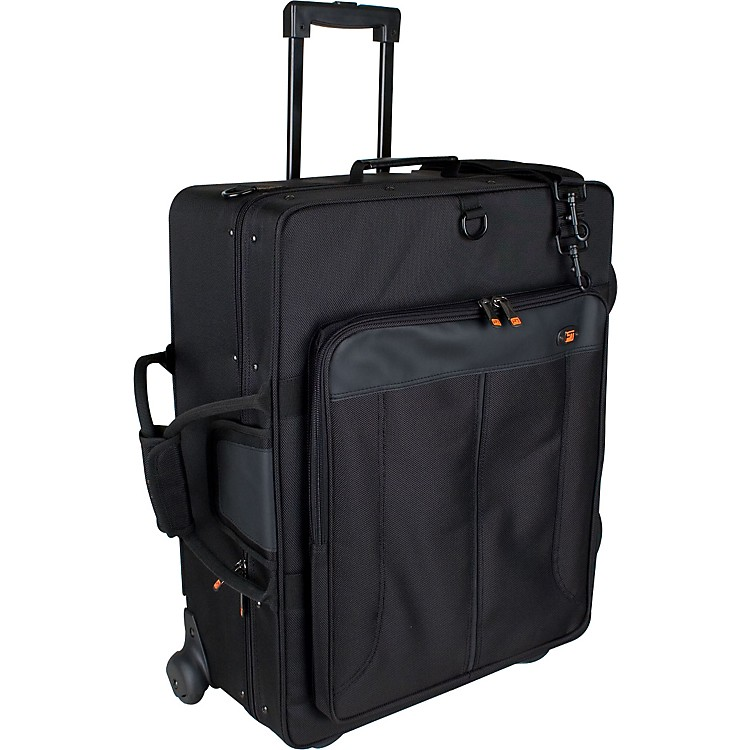 Protec IP301QWL iPAC Quad Trumpet Case with Wheels IP301QWL Black