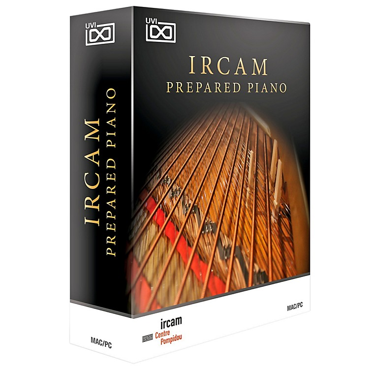 UVI IRCAM Prepared Piano Avant Garde Piano Software Download Software Download