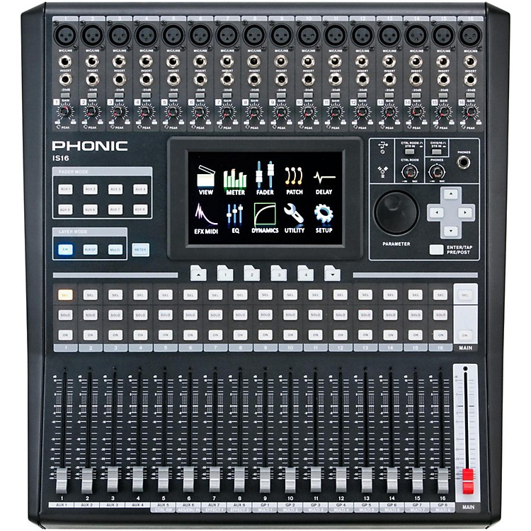 Phonic IS16 Digital Mixer