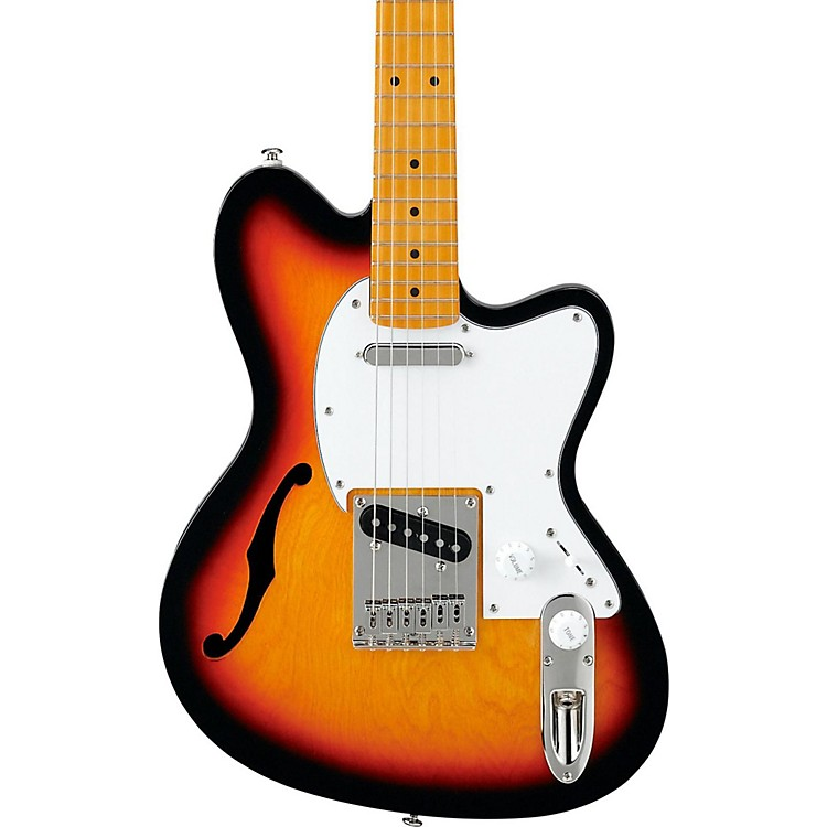 IbanezIbanez Talman Series TM302HM Semi-hollow Electric GuitarTri-Burst
