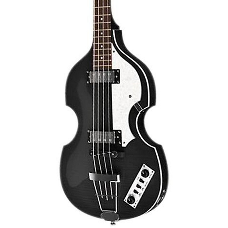 Hofner Ignition Series Vintage Violin Bass Transparent Black