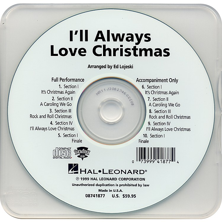 Hal Leonard I'll Always Love Christmas - Performance CD