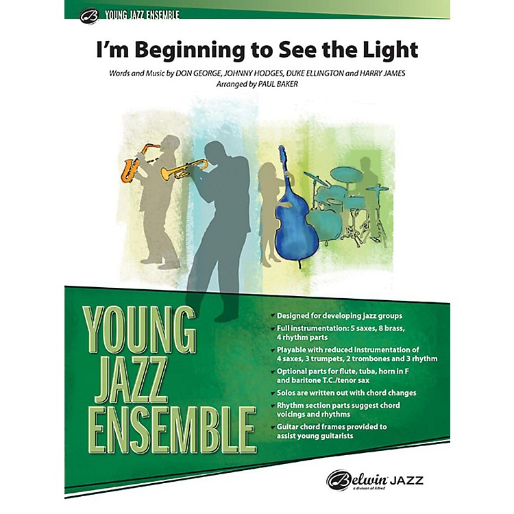 Alfred I'm Beginning to See the Light Jazz Band Grade 2 Set