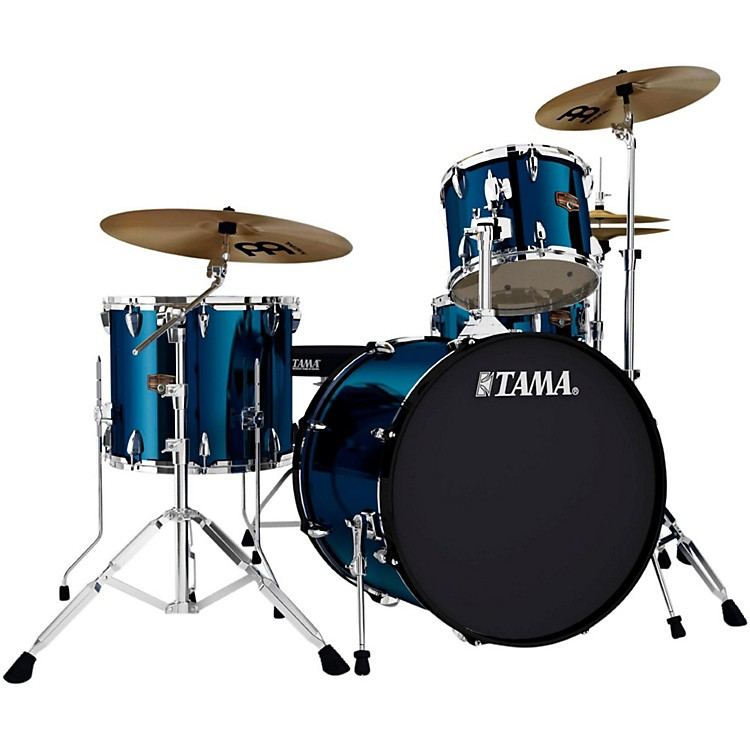 Tama Imperialstar 4-Piece Drum Kit with Cymbals Midnight Blue