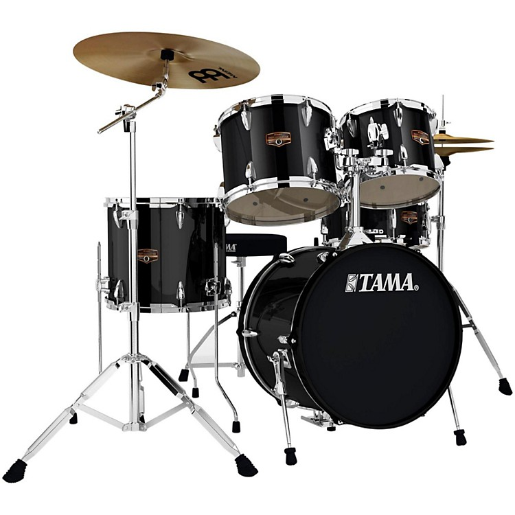 tama imperialstar 5 piece drum set with 18 bass drum and meinl cymbals music123. Black Bedroom Furniture Sets. Home Design Ideas