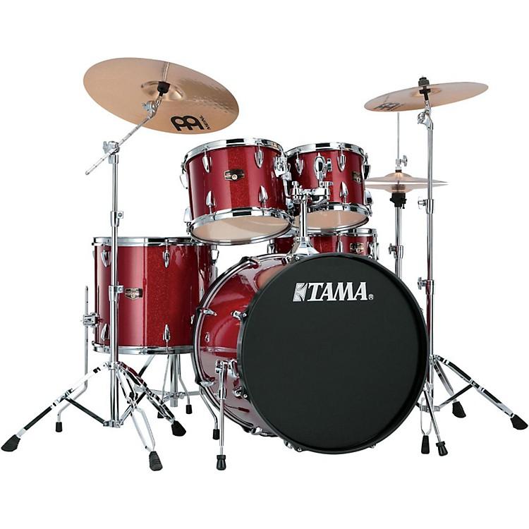 TamaImperialstar 5-Piece Drum Set with CymbalsCandy Apple Mist