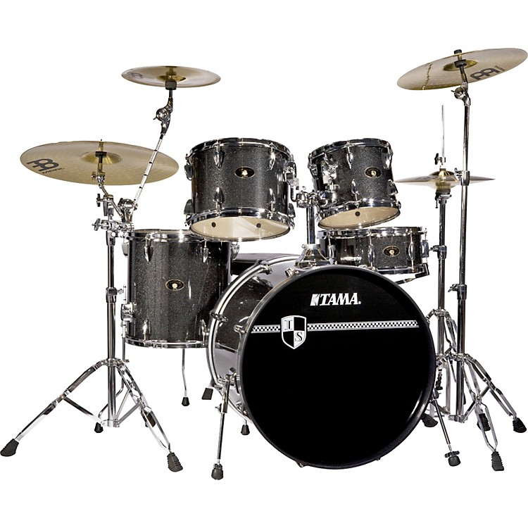 tama imperialstar 5 piece new fusion drum set with cymbals music123. Black Bedroom Furniture Sets. Home Design Ideas