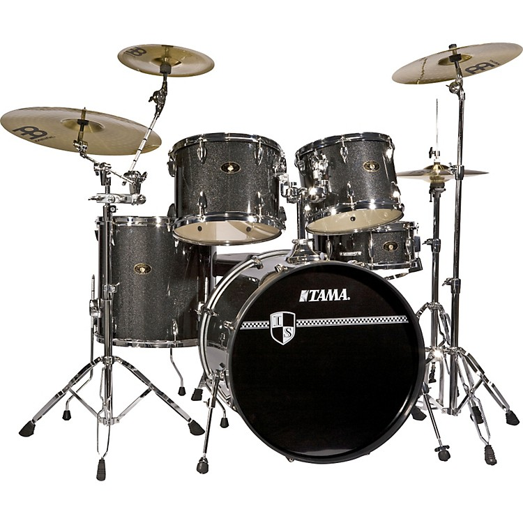 tama imperialstar 5 piece standard drum set with cymbals music123. Black Bedroom Furniture Sets. Home Design Ideas