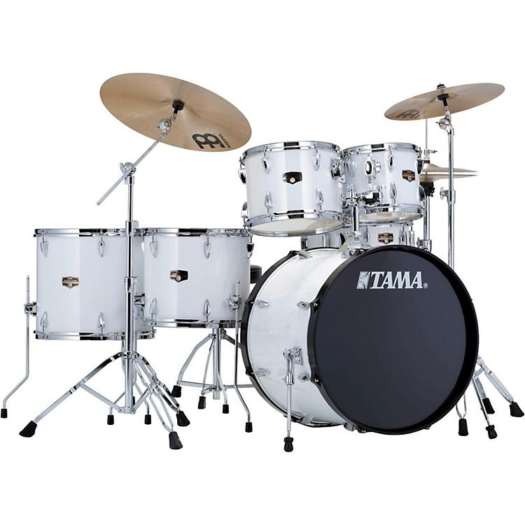 TamaImperialstar 6-Piece Drum Set with CymbalsSugar White