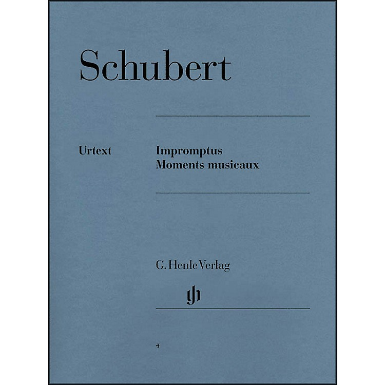 G. Henle VerlagImpromptus And Moments Musicaux By Schubert