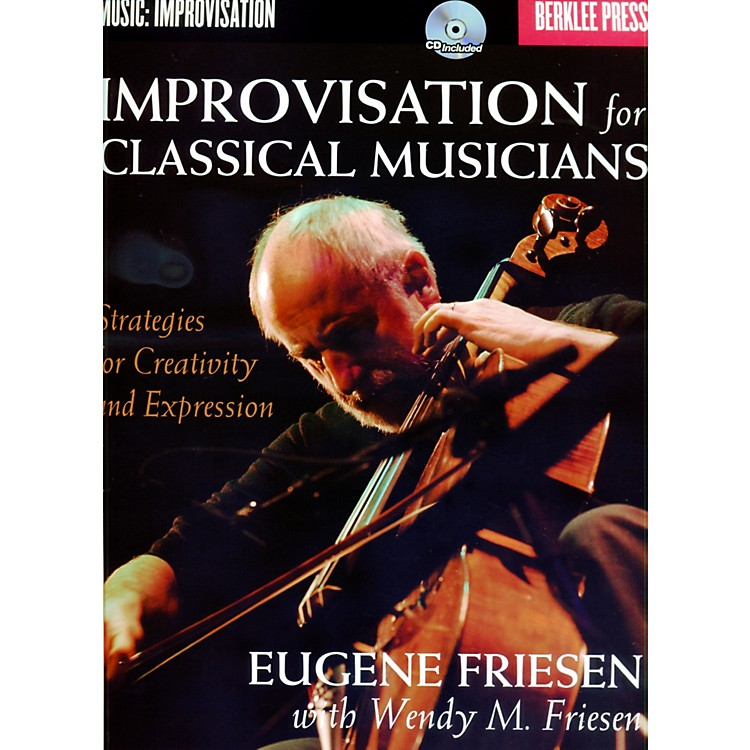 Berklee PressImprovisation For Classical Musicians - Berklee Press Book/CD