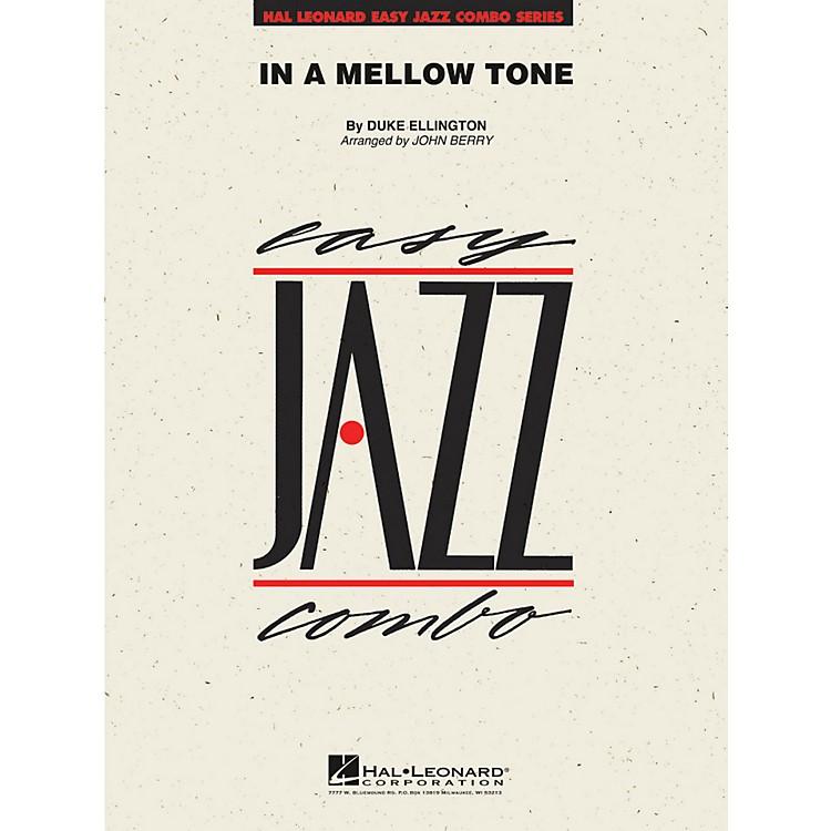 Hal LeonardIn A Mellow Tone - Easy Jazz Combo Series Level 2
