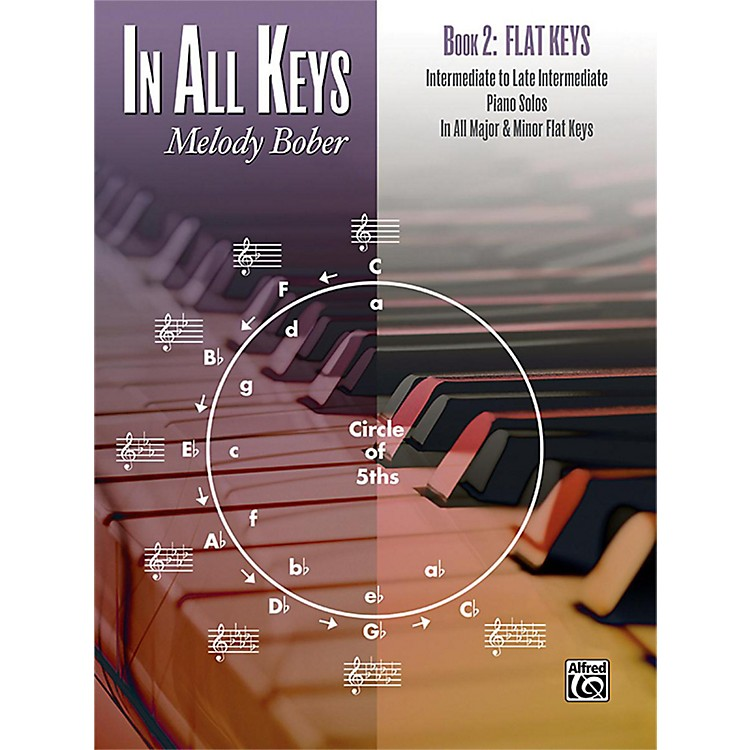 Alfred In All Keys, Book 2: Flat Keys Intermediate / Late Intermediate