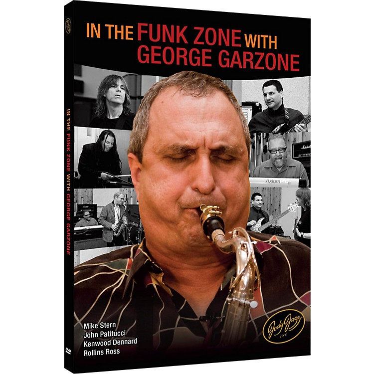 Jody Jazz In the Funk Zone with George Garzone DVD