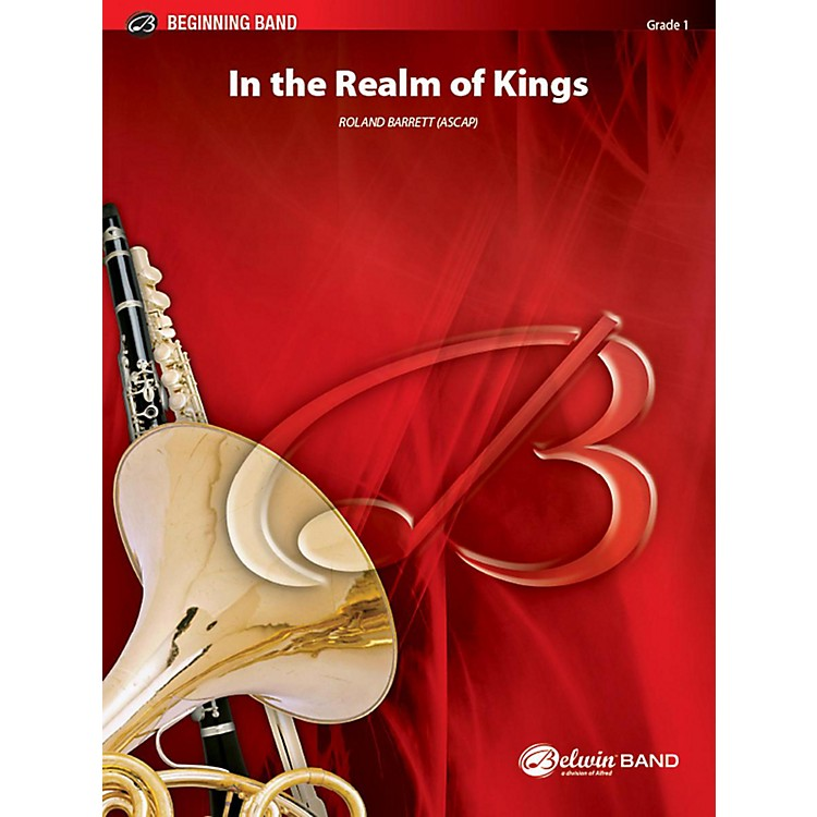 Alfred In the Realm of Kings Concert Band Grade 1 Set