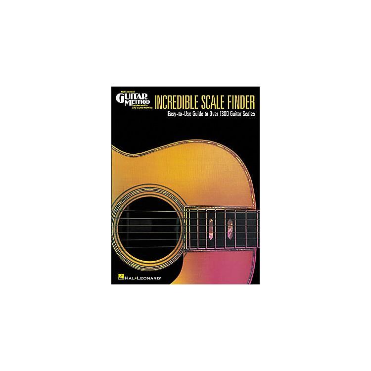 Hal LeonardIncredible Scale Finder Book