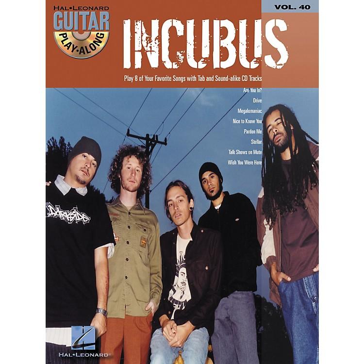 Hal LeonardIncubus Guitar Play-Along Vol. 40 Book with CD