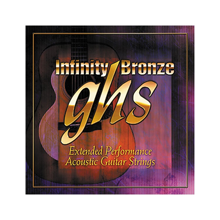 GHSInfinity Bronze Acoustic Light Guitar Strings