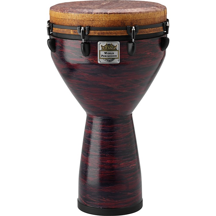 Remo Infinity Mondo Djembe Choco Red 14 in.