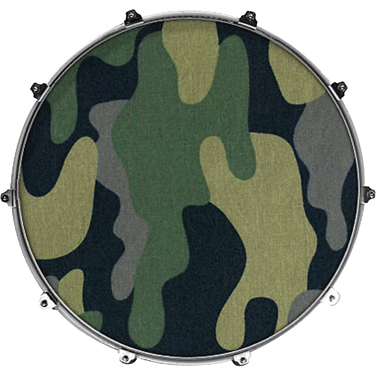 Evans Inked by Evans Fabric Series Kick Drumhead